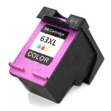 Cheap Compatible HP F6U63AA #63XLC Color Ink