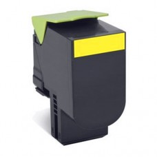 Cheap Compatible Lexmark 80C8SY0 808SY Yellow Toner Cartridge